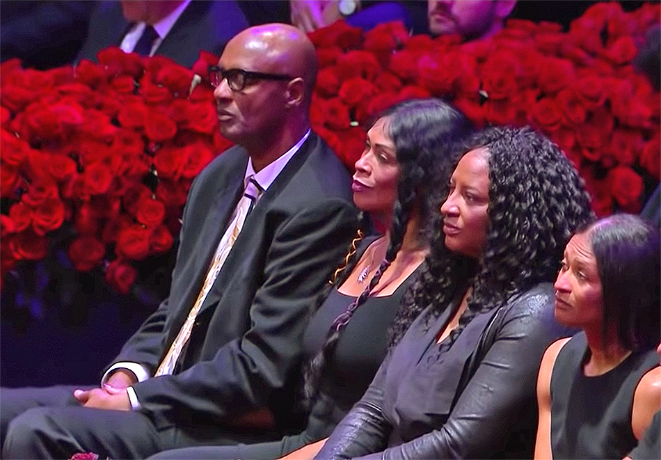Kobe Bryant's Parents Attended Emotional Memorial Service for Late Son and Granddaughter