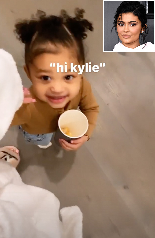 Kylie Jenner's Daughter Stormi, 2, Calls Her 'Kylie' Instead of 'Mom' in Adorable Video