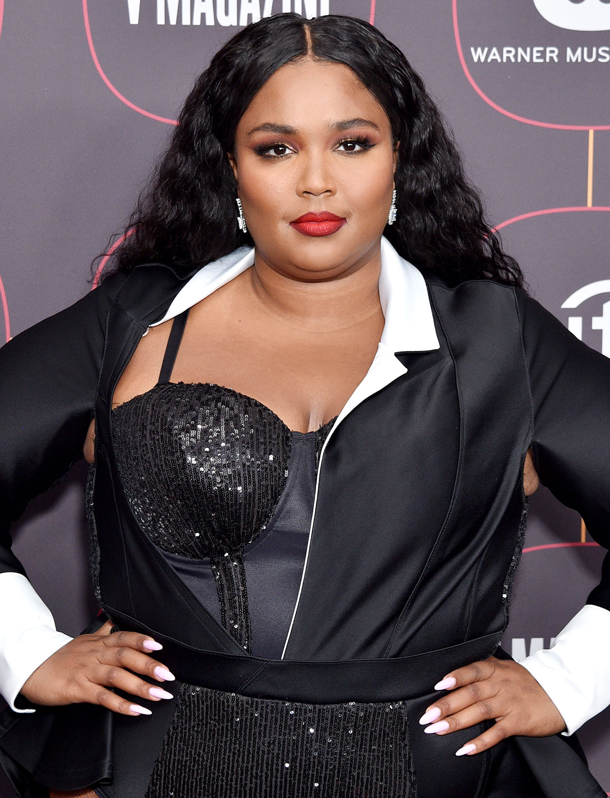 Lizzo attends the Warner Music Group Pre-Grammy Party 2020 at Hollywood Athletic Club on January 23, 2020
