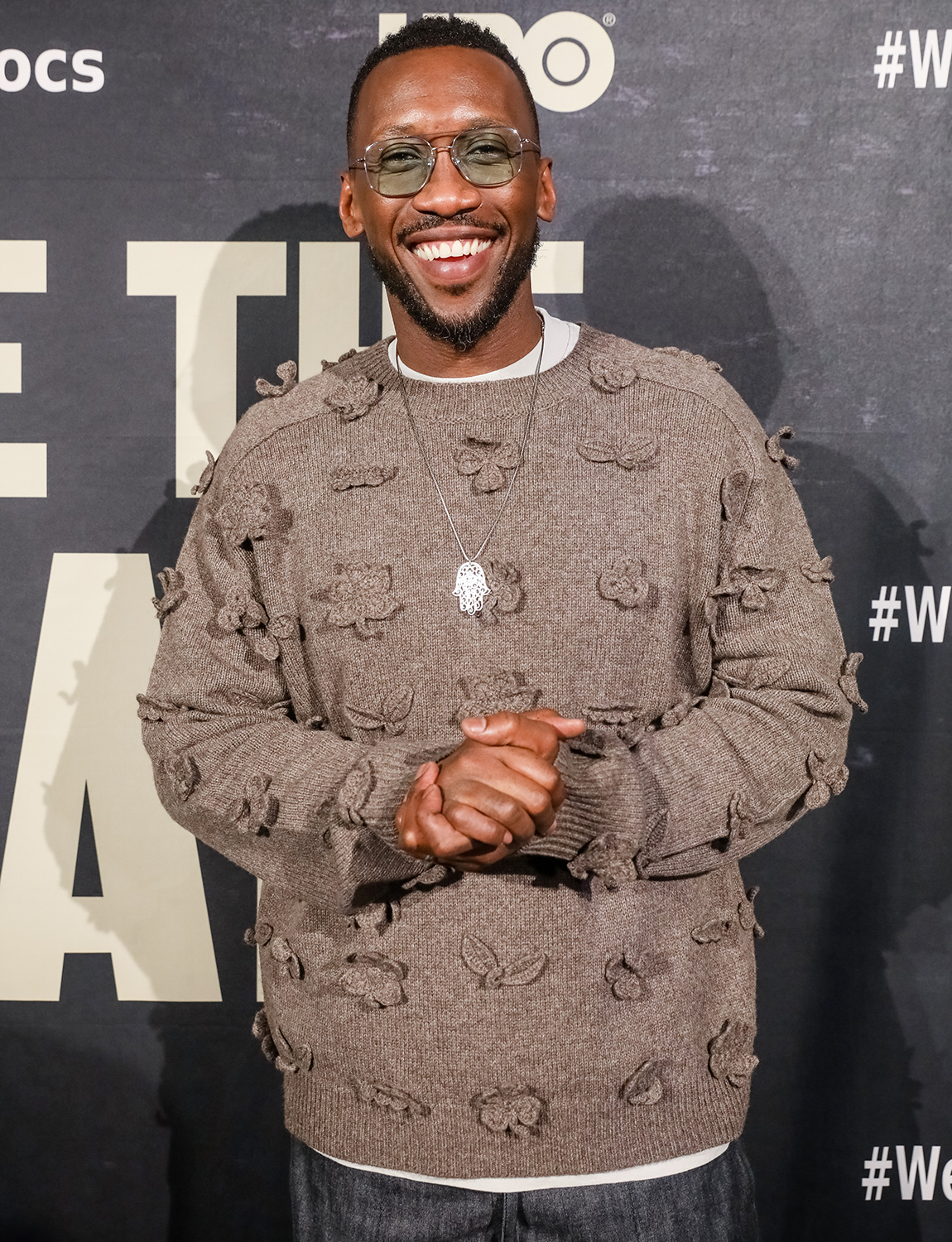 "Mahershala Ali poses for a photo on the red carpet for ""We Are The Dream"" on February 11, 2020 in Oakland, California"
