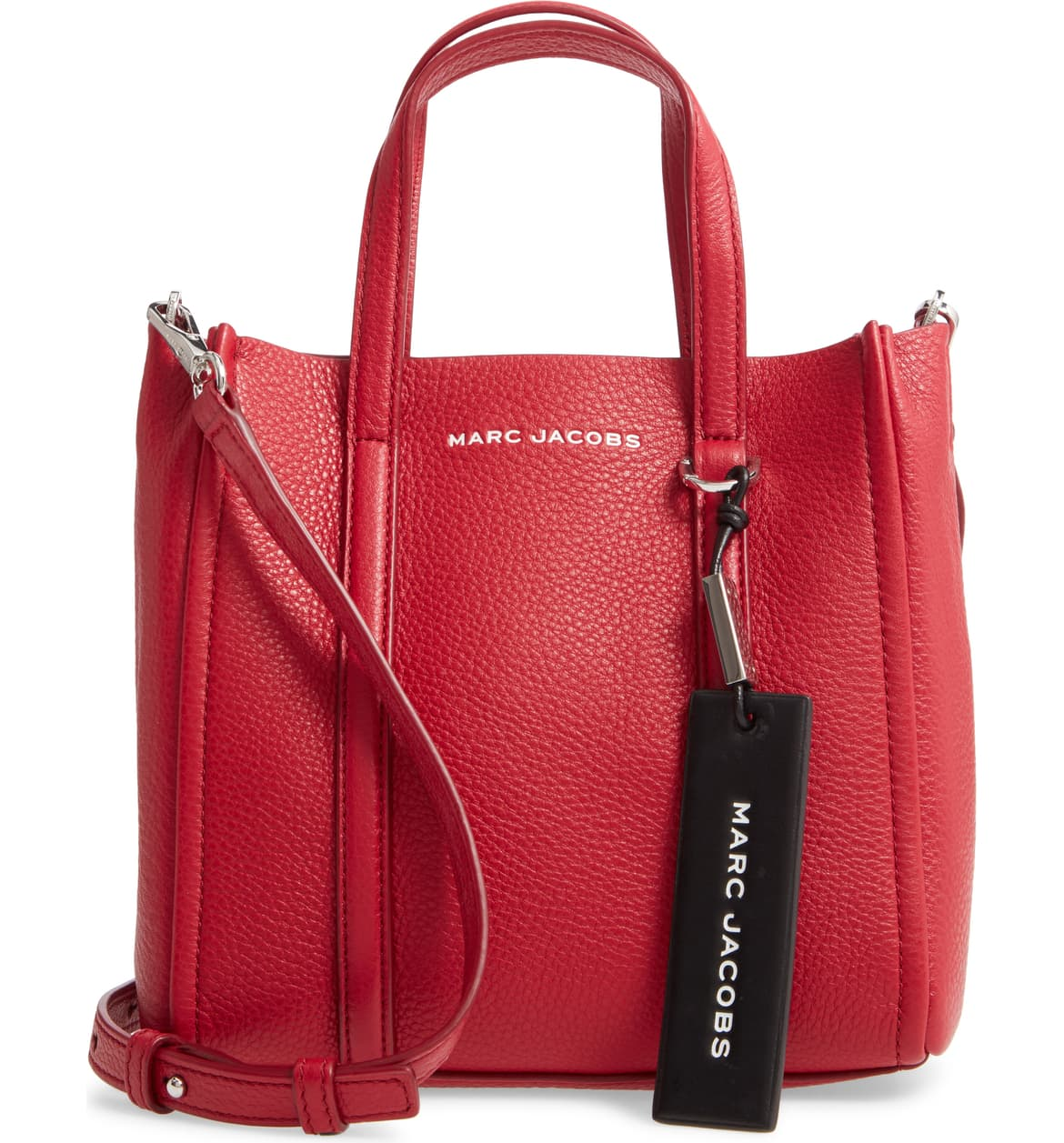 Marc Jacobs cherry red leather top handle tote Nordstrom winter sale