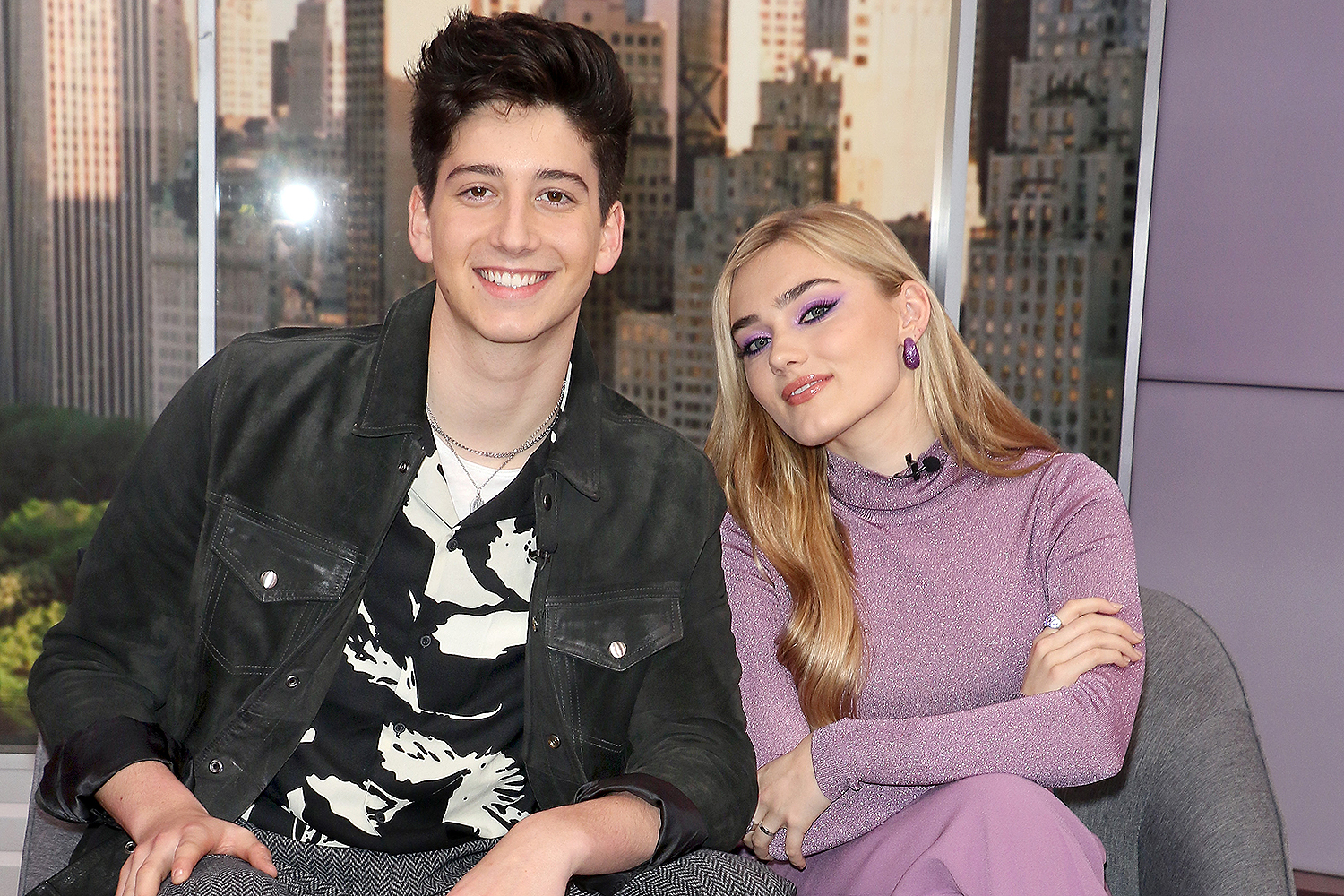 Milo Manheim and Meg Donnelly