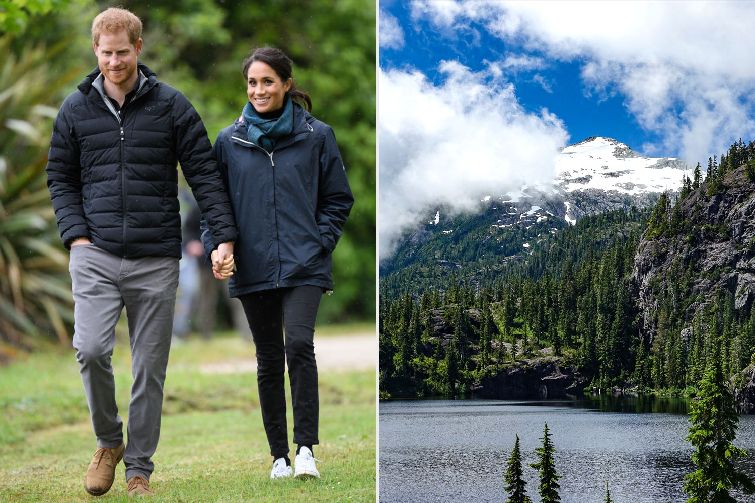 meghan markle and prince harry travel guide to vancouver island people com meghan markle and prince harry travel