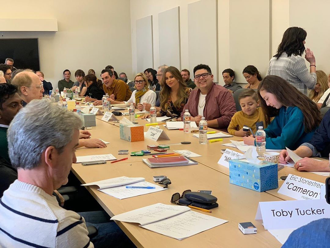 Modern Family Final Table Read