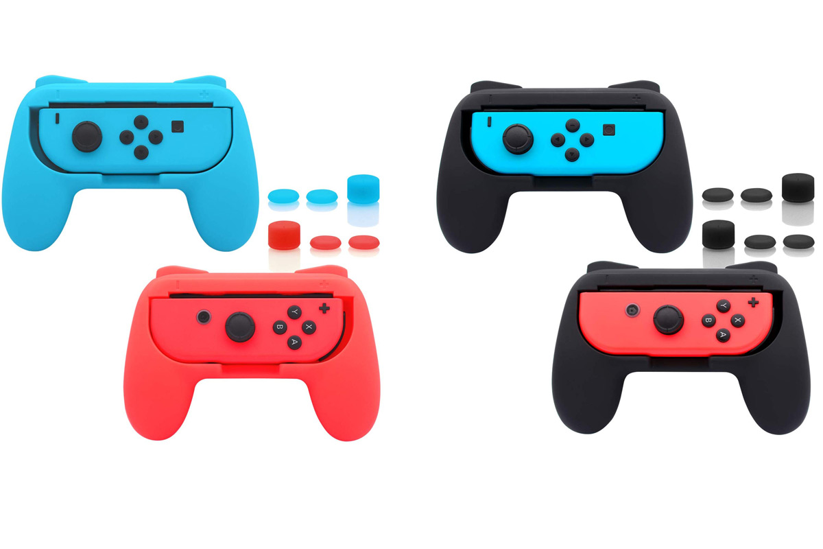 These Nintendo Switch Joy-Con Grips Are Must-Haves for Multi-Player Gaming — and They're on Sale