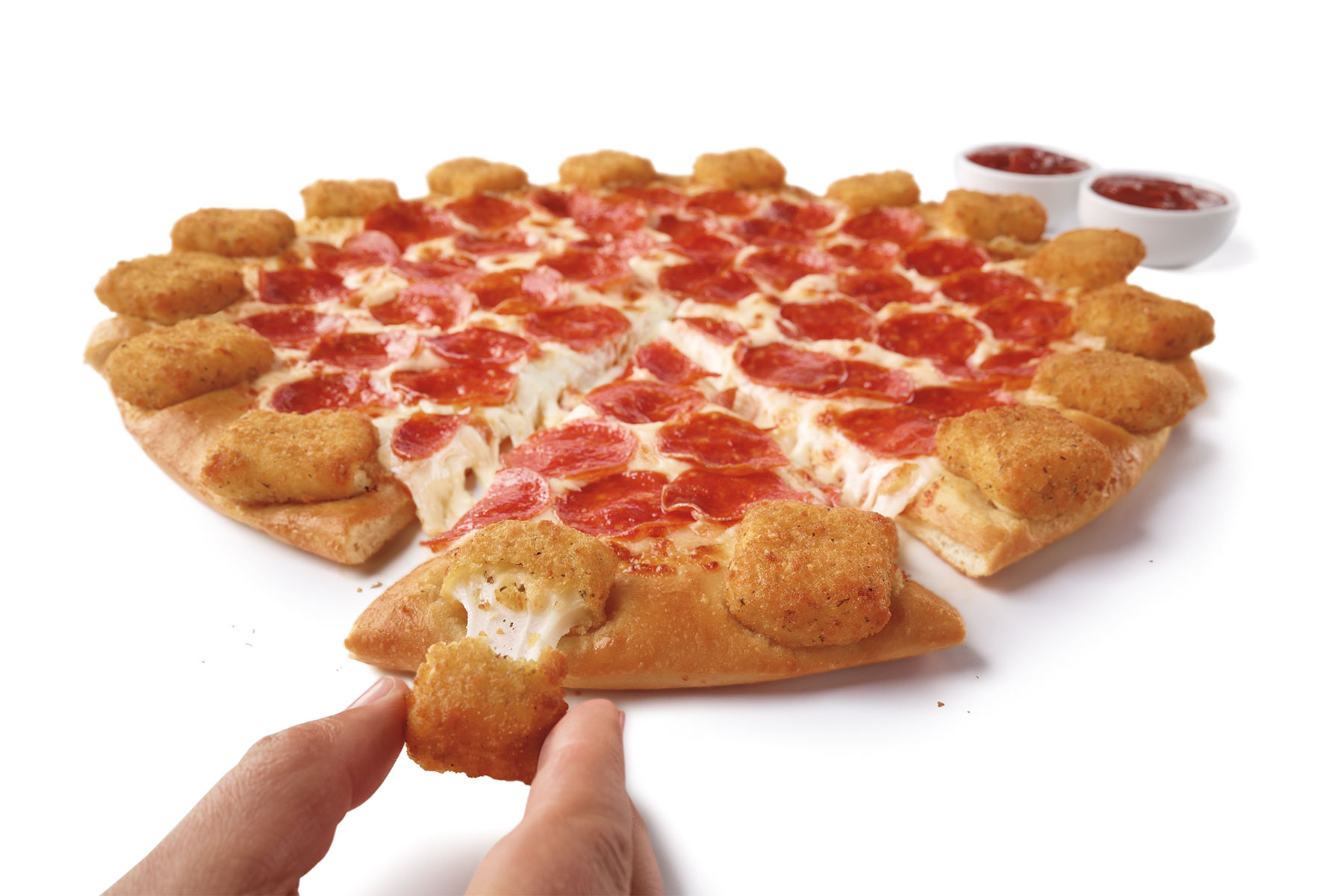 Pizza Hut Mozzarella Poppers