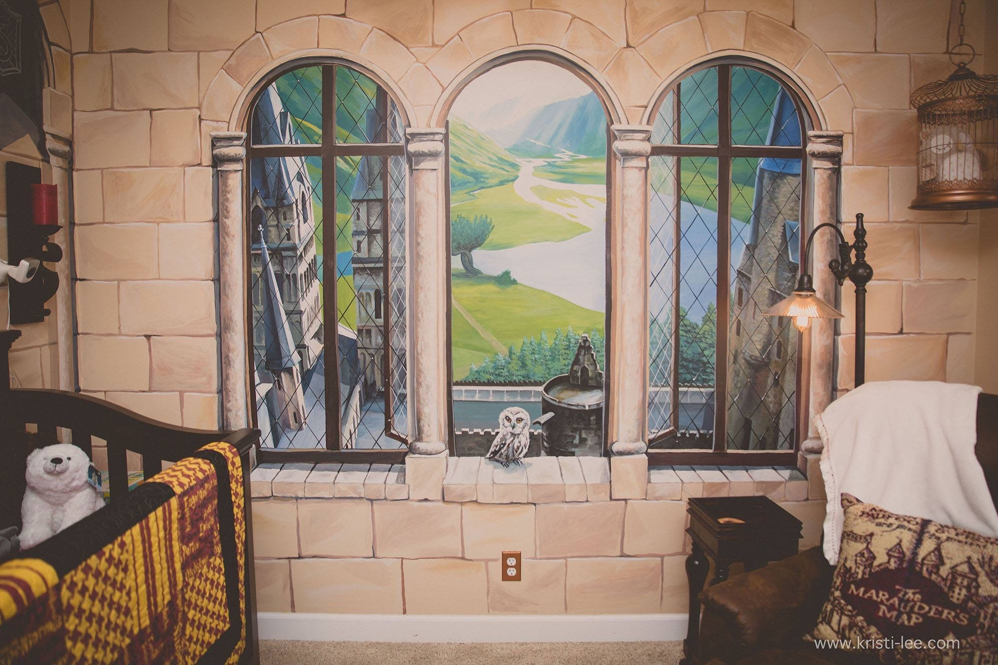 Mom Designs Incredible Harry Potter Room For Son: '4 Four Years Later and He Still Loves It!'