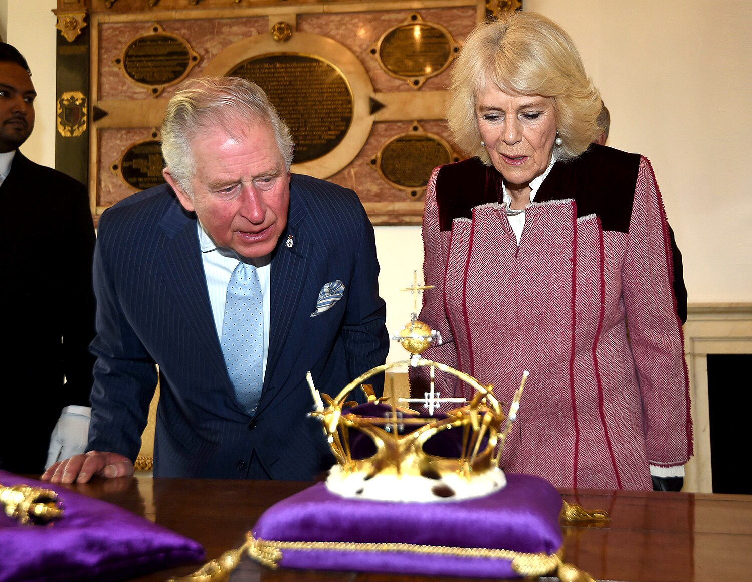 Prince Charles Reunites with Crown Used at Investiture Ceremony ...