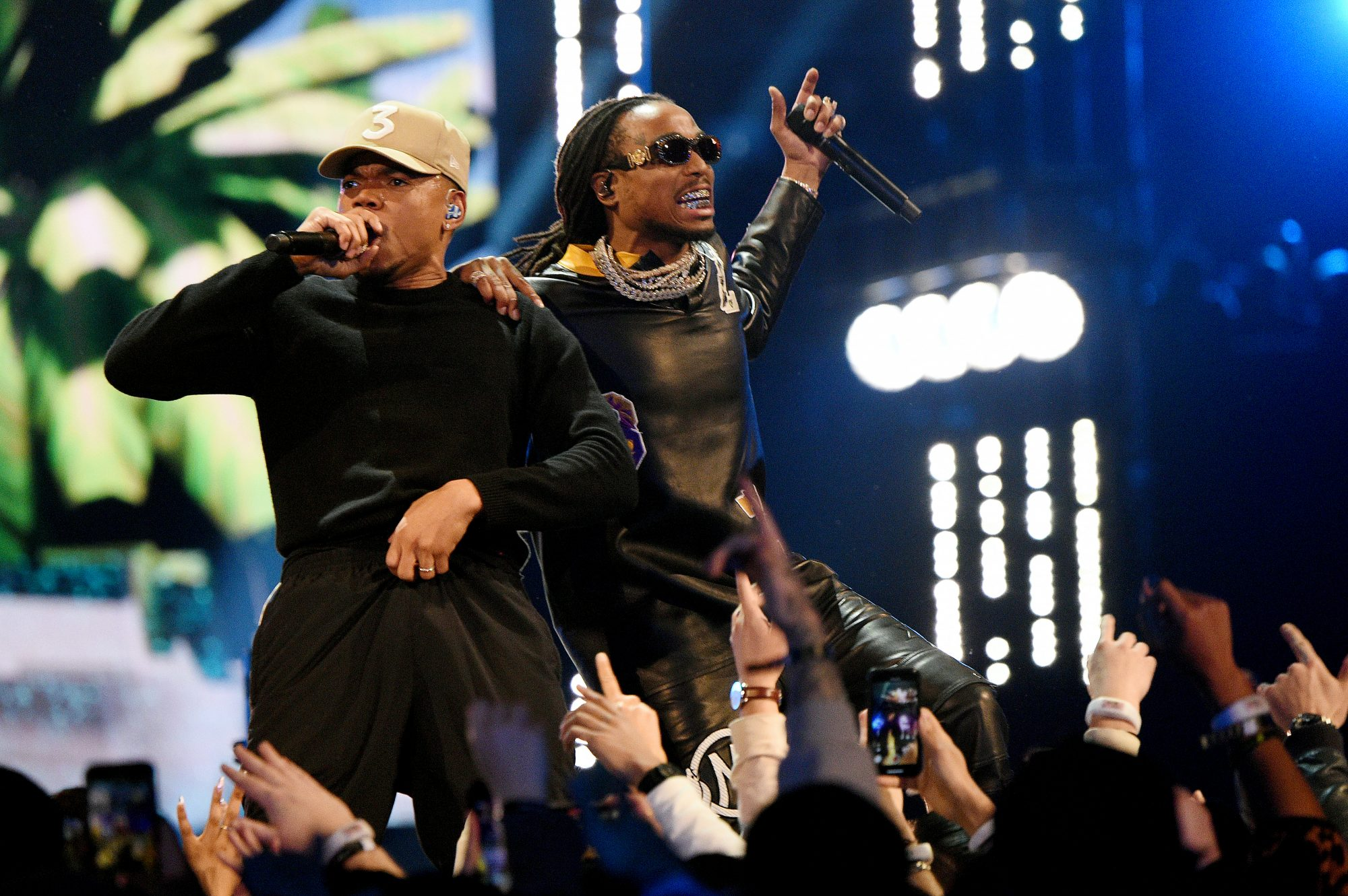 chance the rapper and quavo