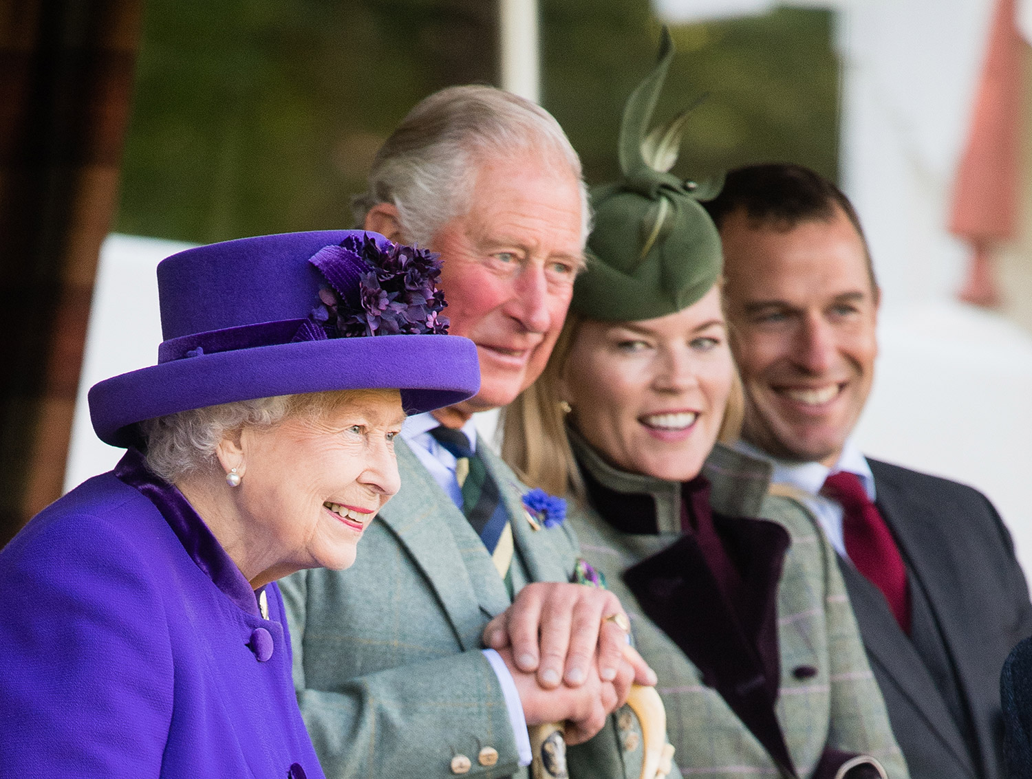 Queen Elizabeth II, Prince Charles, Prince of Wales, Autumn Phillips