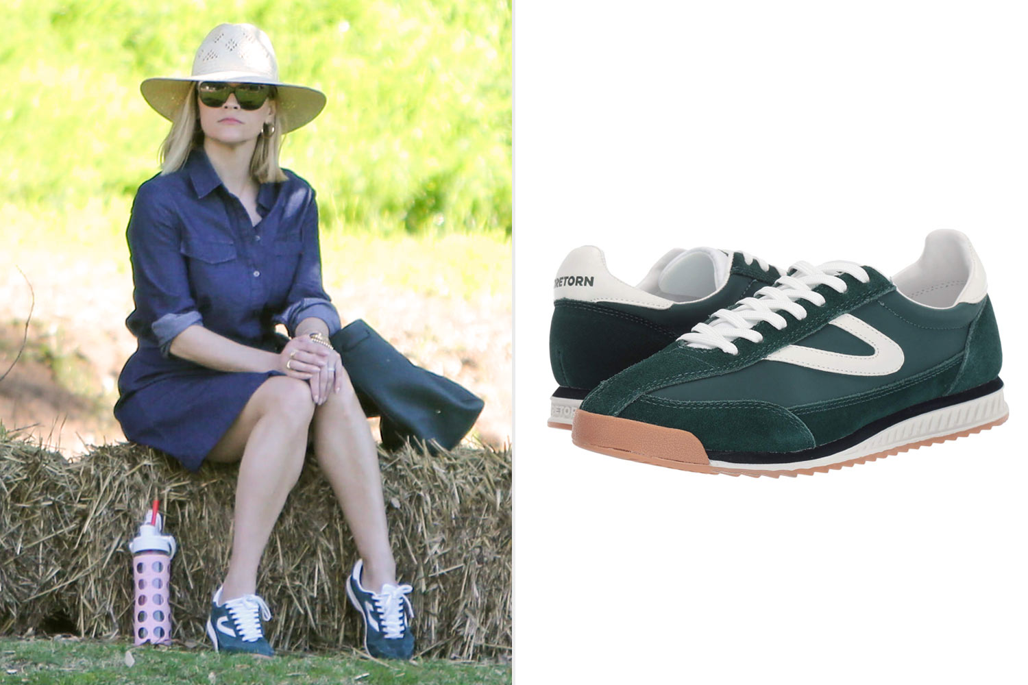 Reese Witherspoon in Tretorn Sneakers