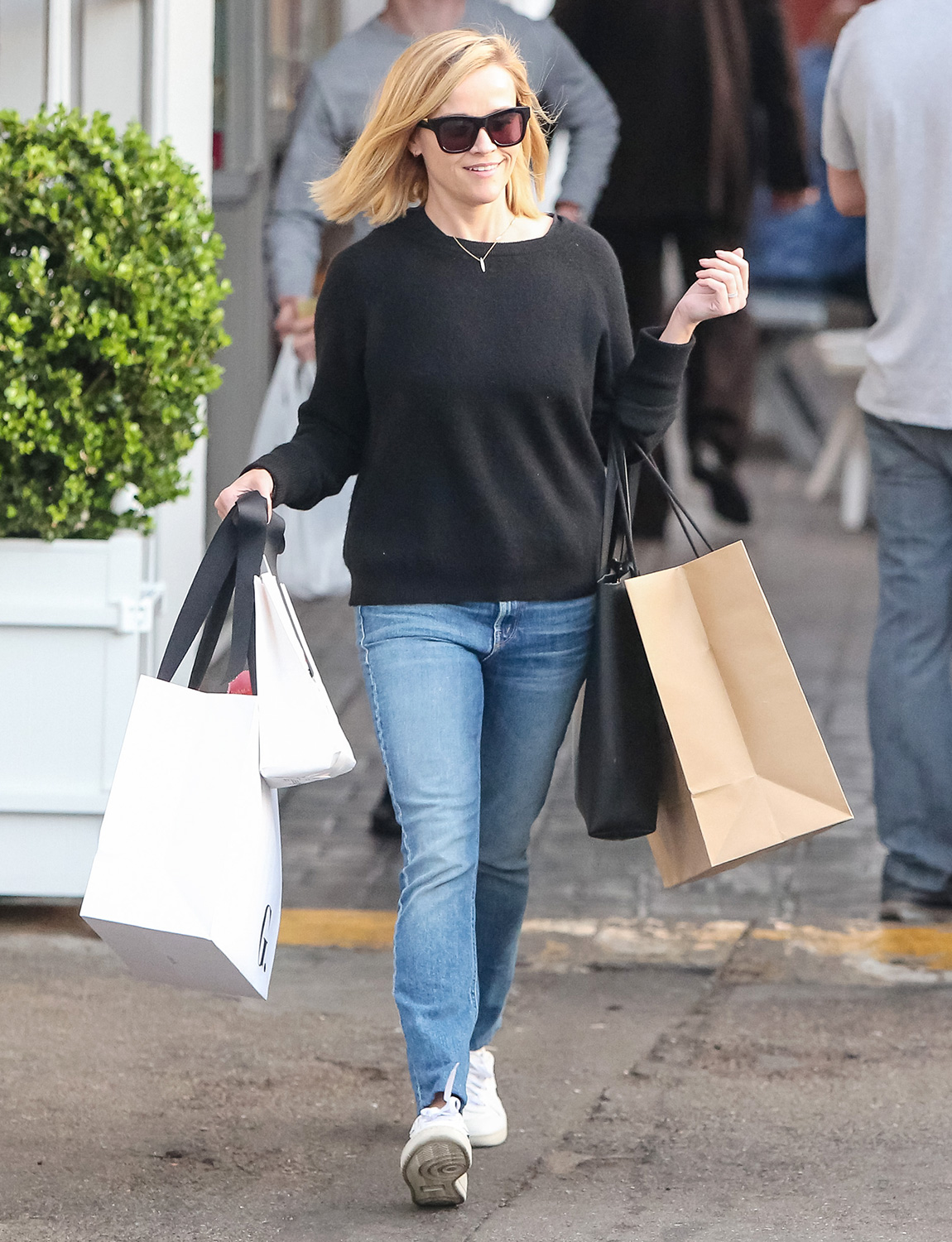Reese Witherspoon is seen on February 13, 2020 in Los Angeles, California