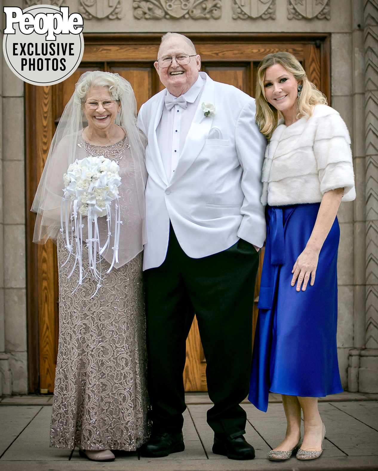 bill and Peggy singlehurst vow renewal