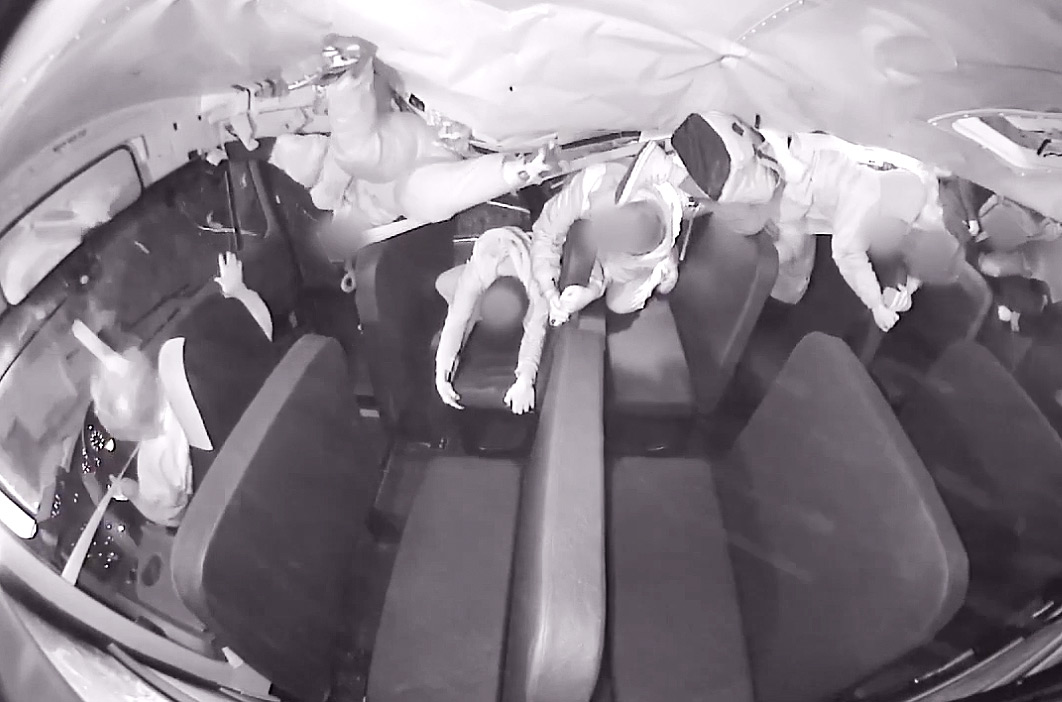 School Bus Crash Footage of Kids Being Thrown Around Sparks Debate About Seat Belts