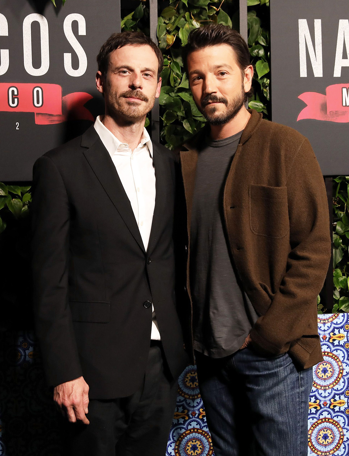 """Scoot McNairy and Diego Luna attend a special screening of """"NARCOS: MEXICO"""" Season 2 presented by Netflix at Netflix Offices on February 06, 2020 in Los Angeles"""