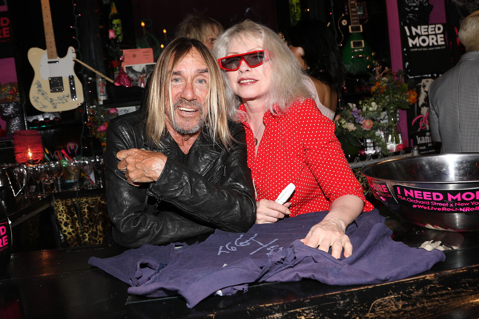 I NEED MORE Presents - 'Footprints in February' with Iggy Pop and Debbie Harry, New York, USA - 24 Feb 2020