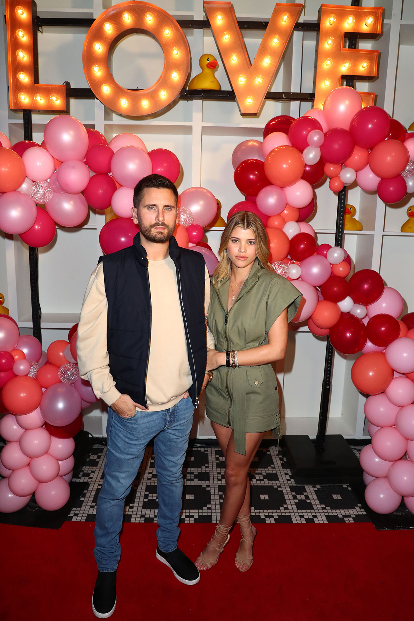 Scott Disick And Sofia Richie Celebrate Valentine's Day At San Diego's New Theatre Box® Entertainment Complex With Dinner At Sugar Factory American Brasserie