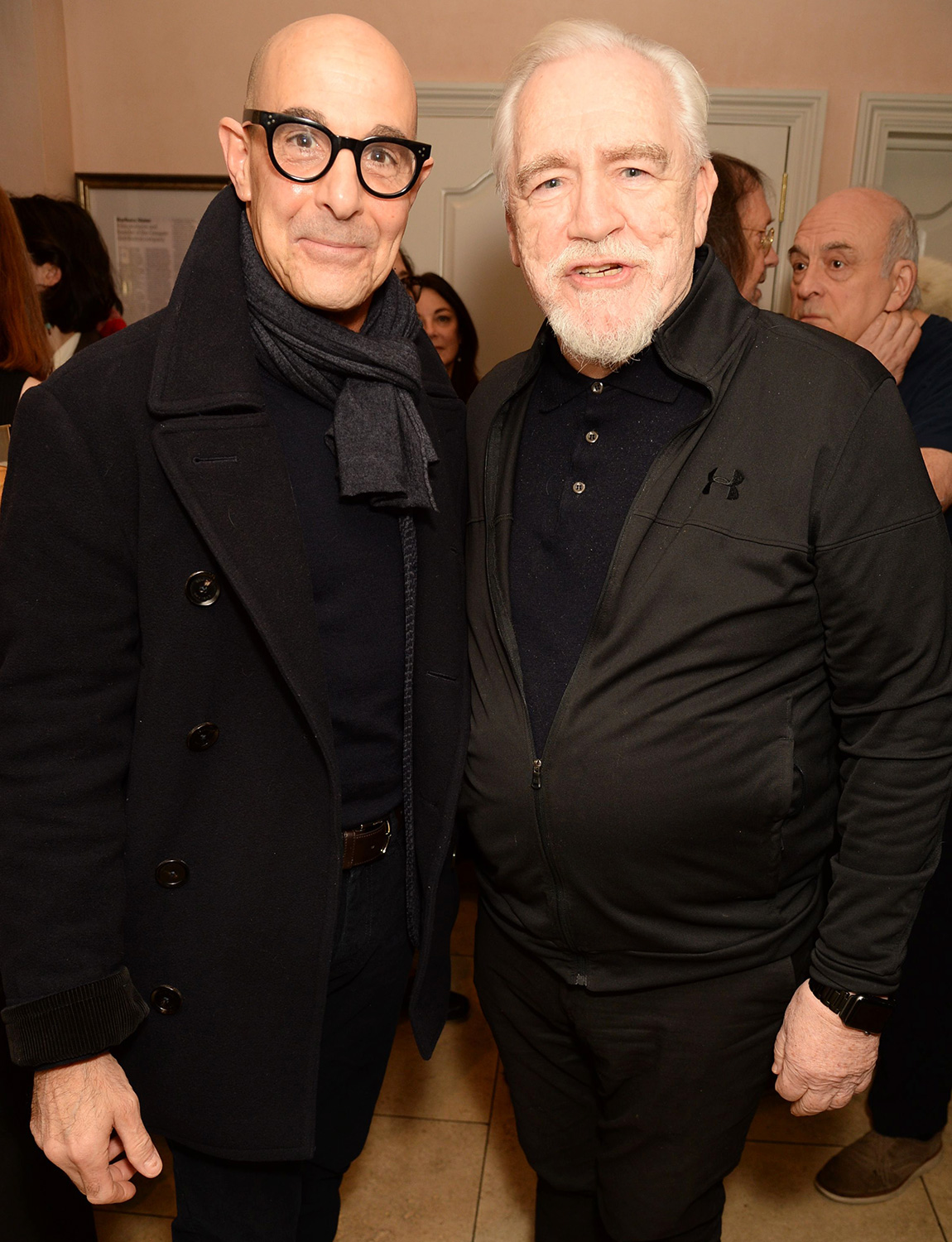 Stanley Tucci and Brian Cox 'Sinners' play, The Playground Theatre, London, UK - 26 Feb 2020