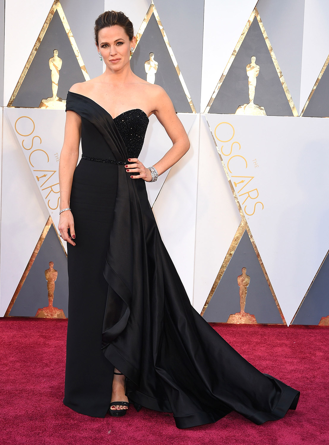 Jennifer Garner's Panic Attack-Inducing Oscars Dress