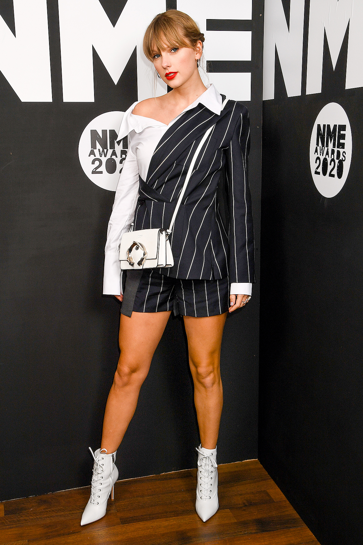 Taylor Swift attends the NME Awards 2020 at O2 Academy Brixton on February 12, 2020