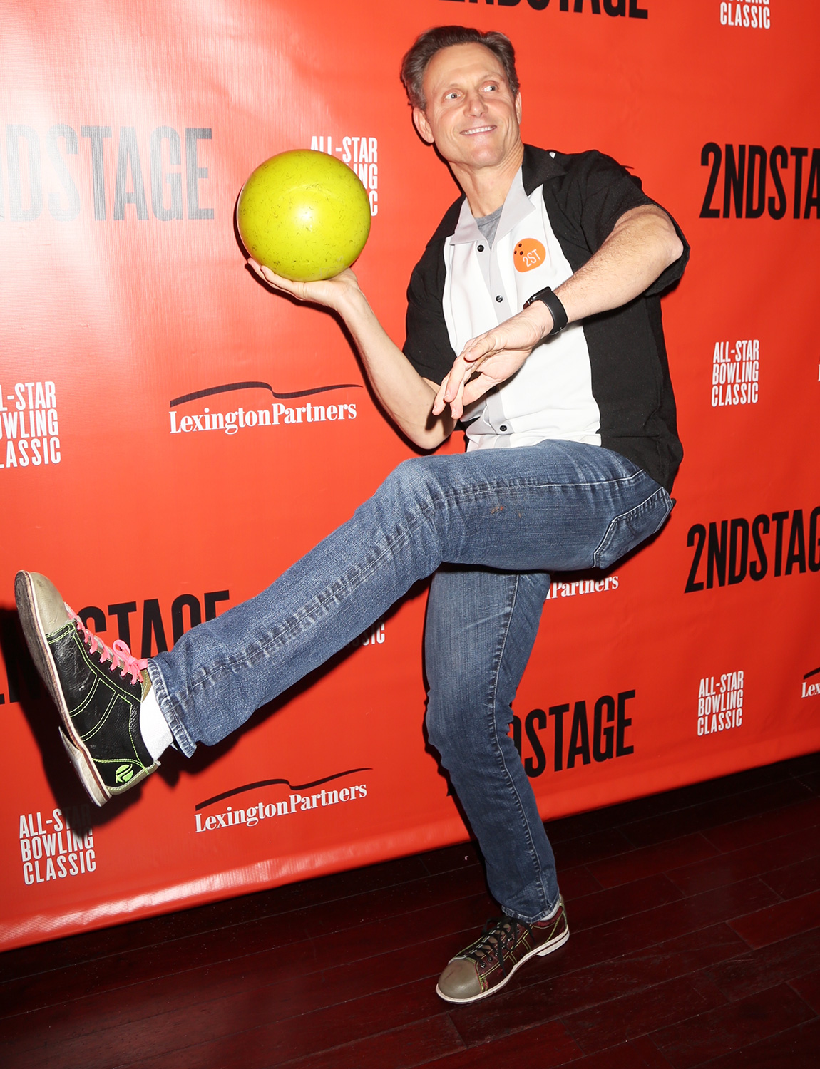 Tony Goldwyn Second Stage Theater's All Star Bowling Classic Fundraiser at Lucky Strike