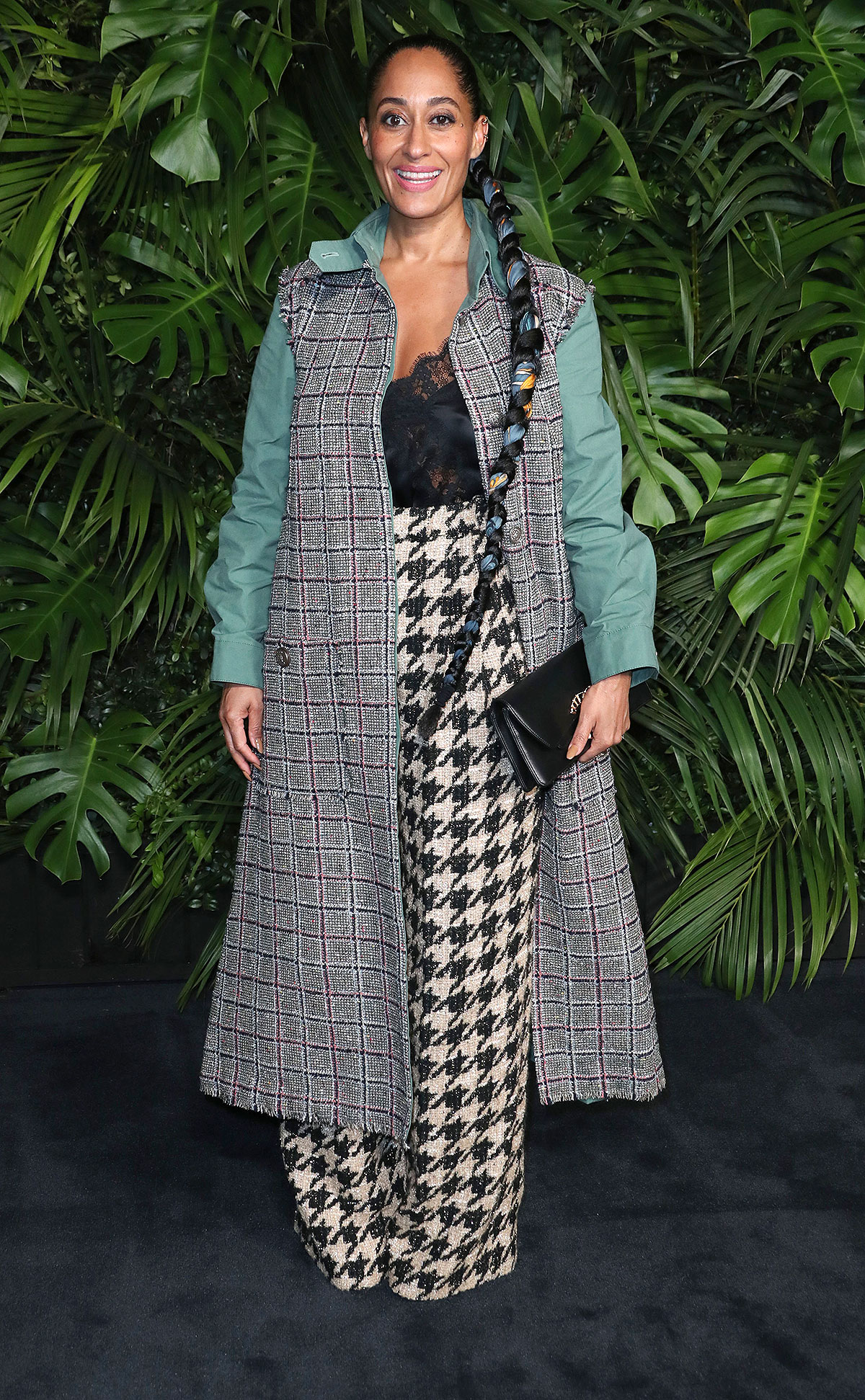 Tracee Ellis Ross Charles Finch and Chanel Pre-Oscars Dinner, Arrivals, Polo Lounge, Los Angeles, USA - 08 Feb 2020