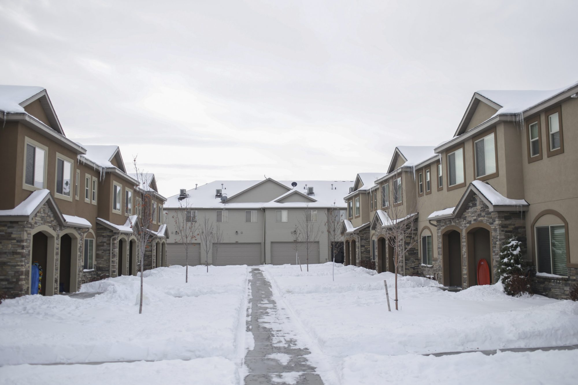 townhouse complex in Rexburg, Idaho