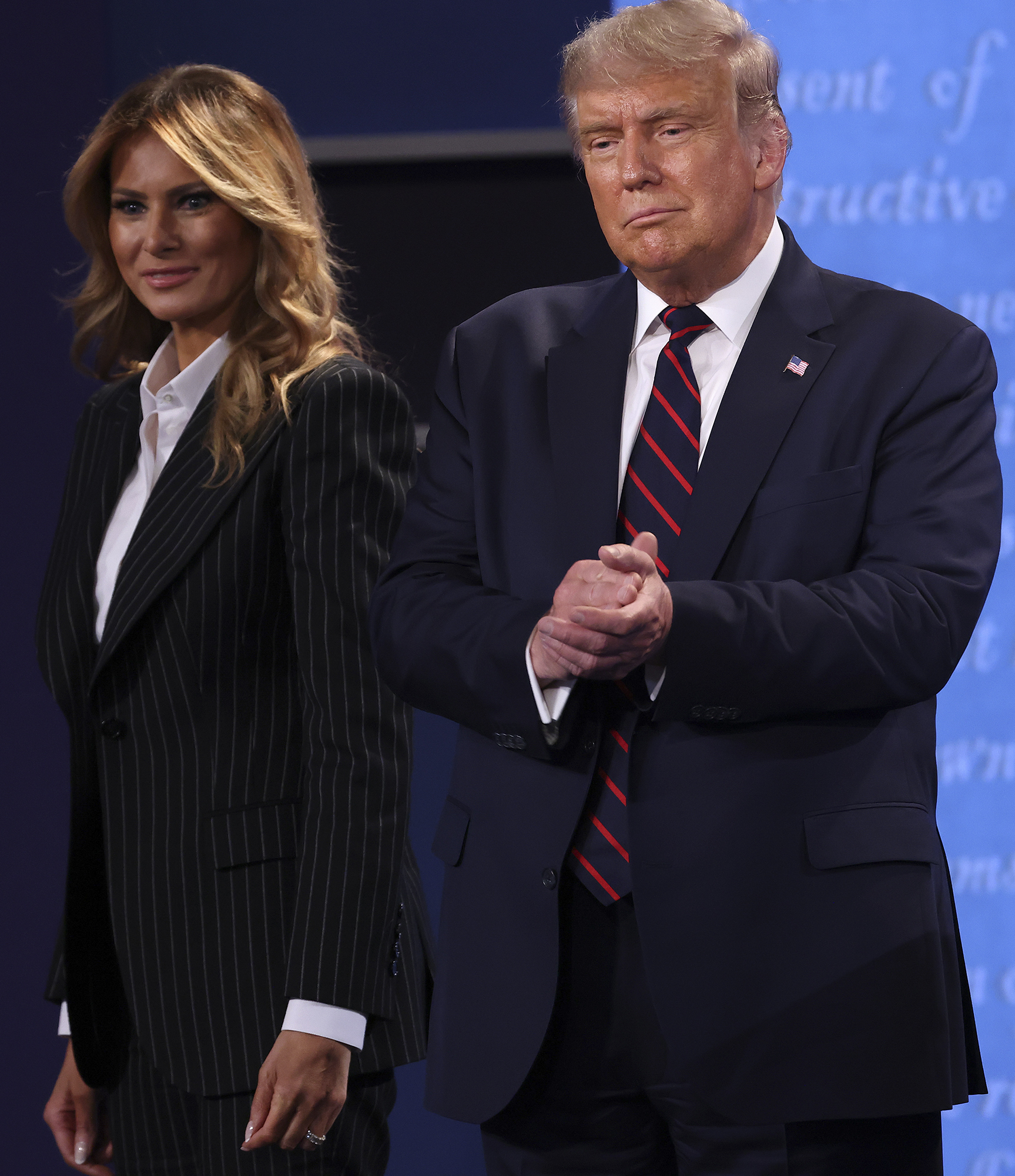 """President Trump and First Lady Melania announced their positive test results on Twitter, just hours after it was confirmed the president's adviserHope Hicks had contracted the contagious virus.                             """"Tonight, @FLOTUS and I tested positive for COVID-19,"""" President Trump tweetedon Oct. 2. """"We will begin our quarantine and recovery process immediately. We will get through this TOGETHER!""""                             Mrs. Trump tweeted minutes laterthat she and her husband were """"feeling good.""""                             """"As too many Americans have done this year, @potus & I are quarantining at home after testing positive for COVID-19,"""" she wrote. """"We are feeling good & I have postponed all upcoming engagements. Please be sure you are staying safe & we will all get through this together.""""                             After his announcement, Trump was hospitalized for three days at the Walter Reed National Military Medical Center and has since returned to the White House.                             On Oct. 5, White House physician Dr. Sean Conley said that Trump would be able to continue his treatment from home at the White House.                             """"Though he may not be entirely out of the woods yet, the team and I agree that all our evaluations - and most importantly, his clinical status - support the president's safe return home,"""" Conley said.                             Instead of remaining in isolation, Trump made another outing over the weekend to wave at his supporters outside Walter Reed from his presidential motorcade - a move thatwas criticizedfor putting others at risk of contracting the virus.                             Just before leaving Walter Reed, Trump sent out a tweet promising to be back on the campaign trail """"soon.""""                             Since President Trump's positive diagnosis, at least half-a-dozen members of the administration (plus several non-officials who recently visited the White House and several journ"""