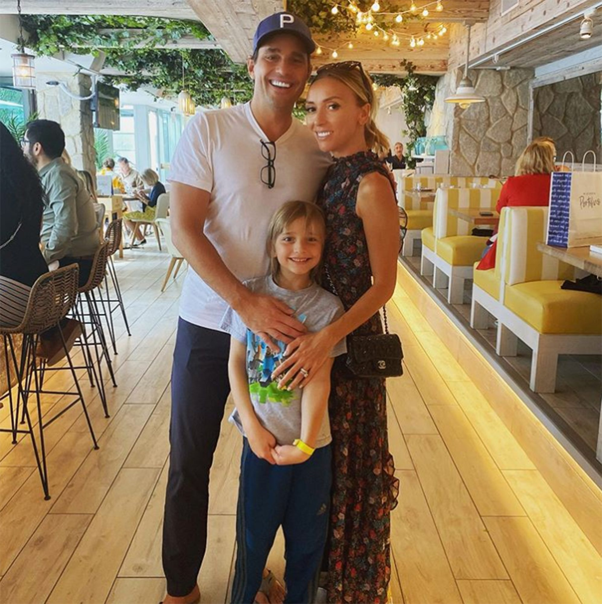 """Rancic, who was originally tapped to host the 2020 Emmys pre-show, revealed early in the show that she, her husband Bill and son Duke have tested positivefor COVID-19.                             """"Hey, everyone. As I go into my 20th year on the E! red carpet I have to say I do not take missing an award show lightly, but unfortunately, this year is just so different,"""" Rancic announced in a video clip she taped from home. """"As part of E! and NBCUniversal's very strict testing guidelines, especially before an event like this, I did find out that I tested positive for COVID-19. Now as much as I didn't want to hear that, I'm very thankful I heard it before I traveled and possibly could have exposed other people. So for that, I'm thankful.""""                             Rancic continued, """"As far as my health, I'm doing well. My husband Bill and our son also did test positive, but we're all doing well and taking care of each other so I'm going to get back to doing that. But I just want to say I'm wishing you all the best and please protect yourselves and protect those around you. Take good care and I'll see you on the next red carpet.""""                             The pre-show was instead hosted by Brad Goreski and Nina Parker."""