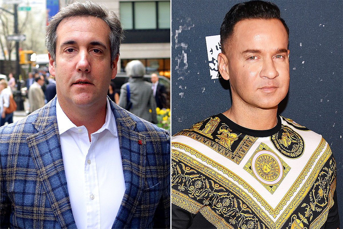Michael Cohen; Mike Sorrentino