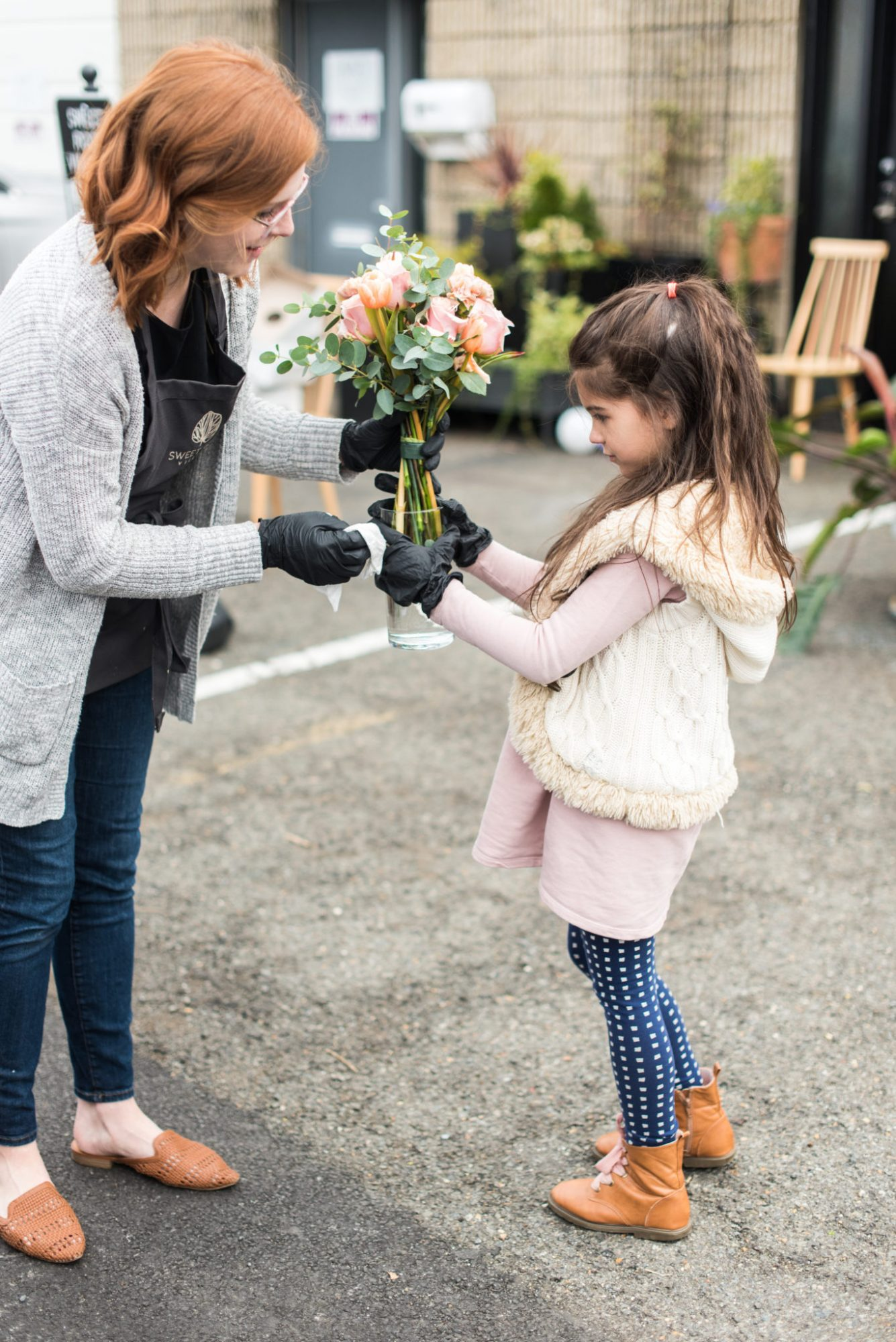 Florists Using Blooms from Canceled Events for Good