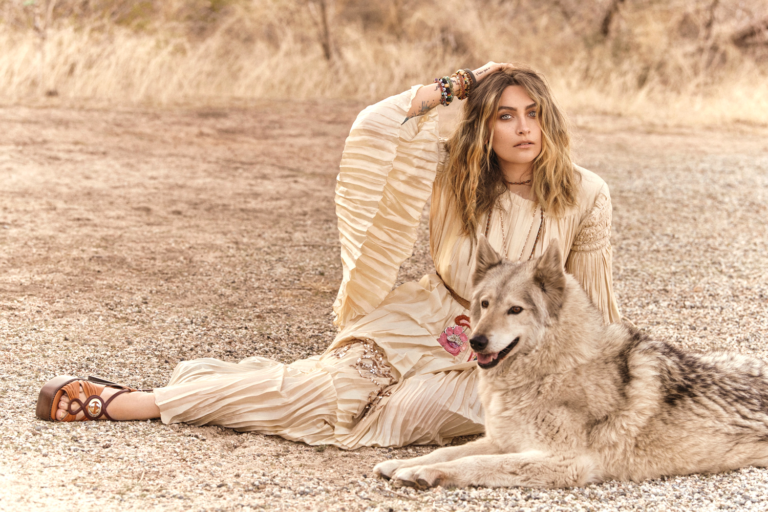 Paris Jackson Remix Magazine Shoot