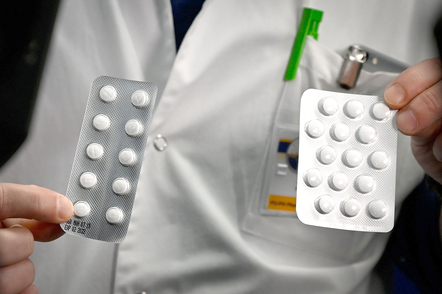 chloroquine and Plaqueril tablets