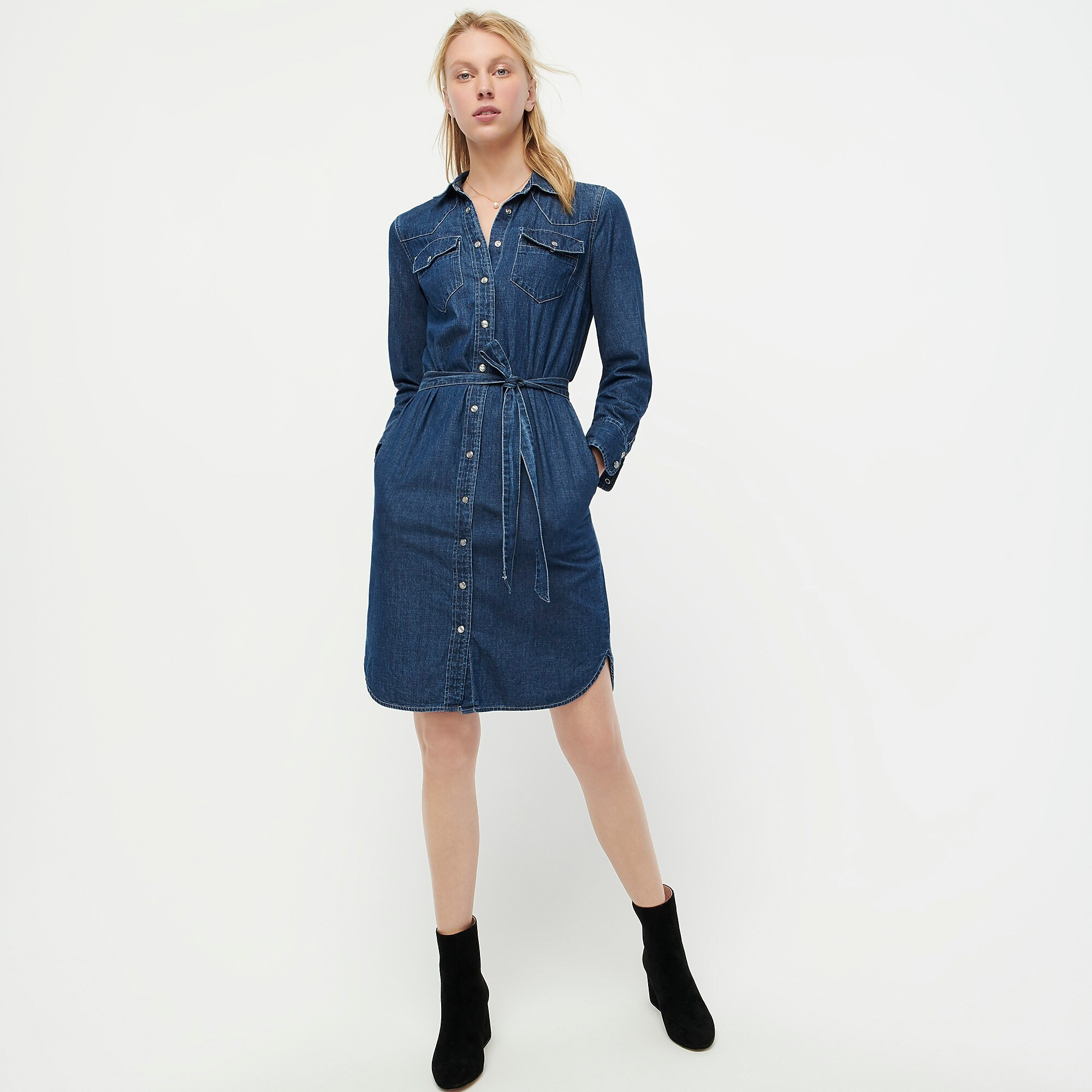 Meghan Markle's Denim J.Crew Shirtdress Is Finally Back (but It's About to Sell Out Again)