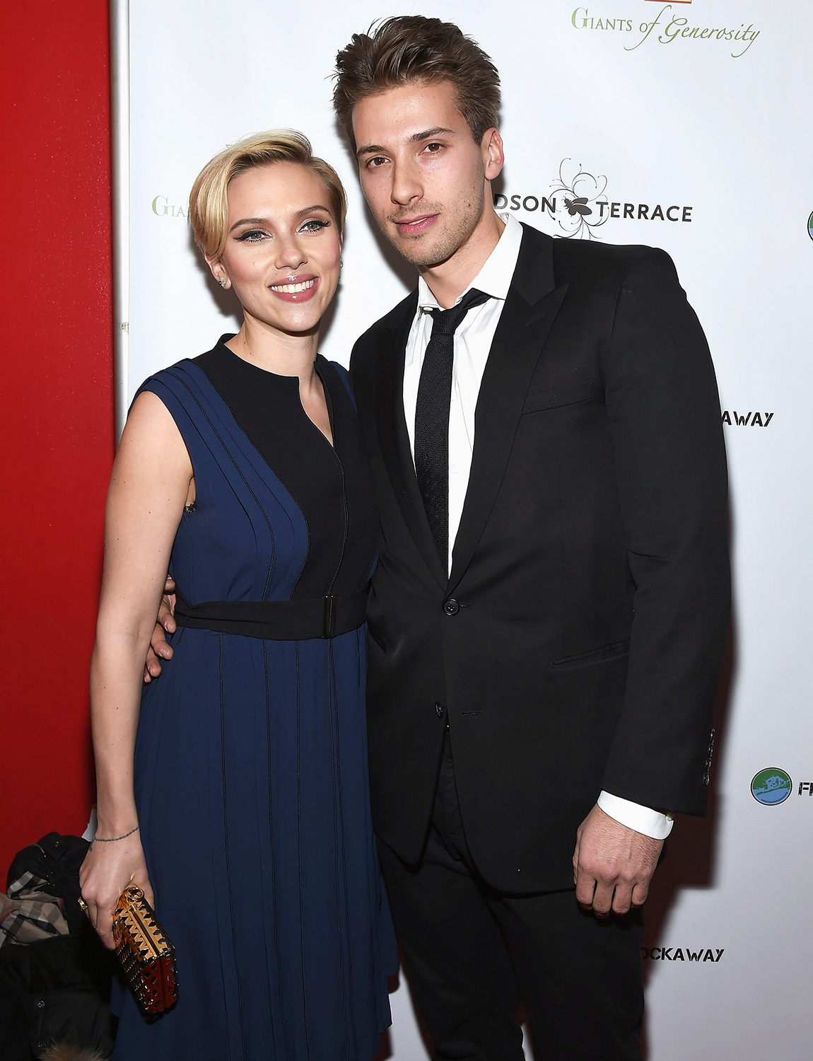 Scarlett Johansson and her brother Hunter Johansson