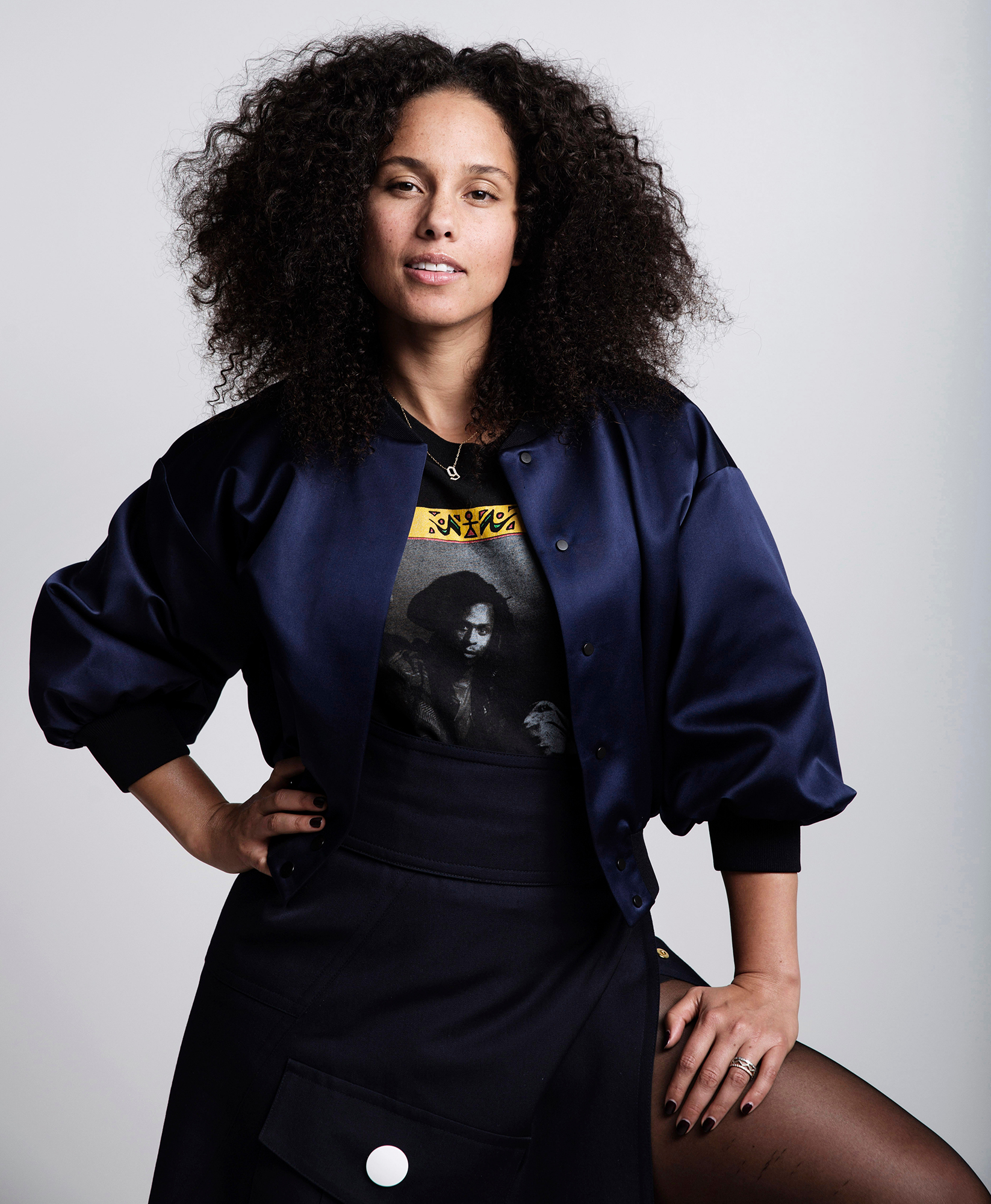 Alicia Keys Portrait Session, New York, USA - 2 Nov 2016