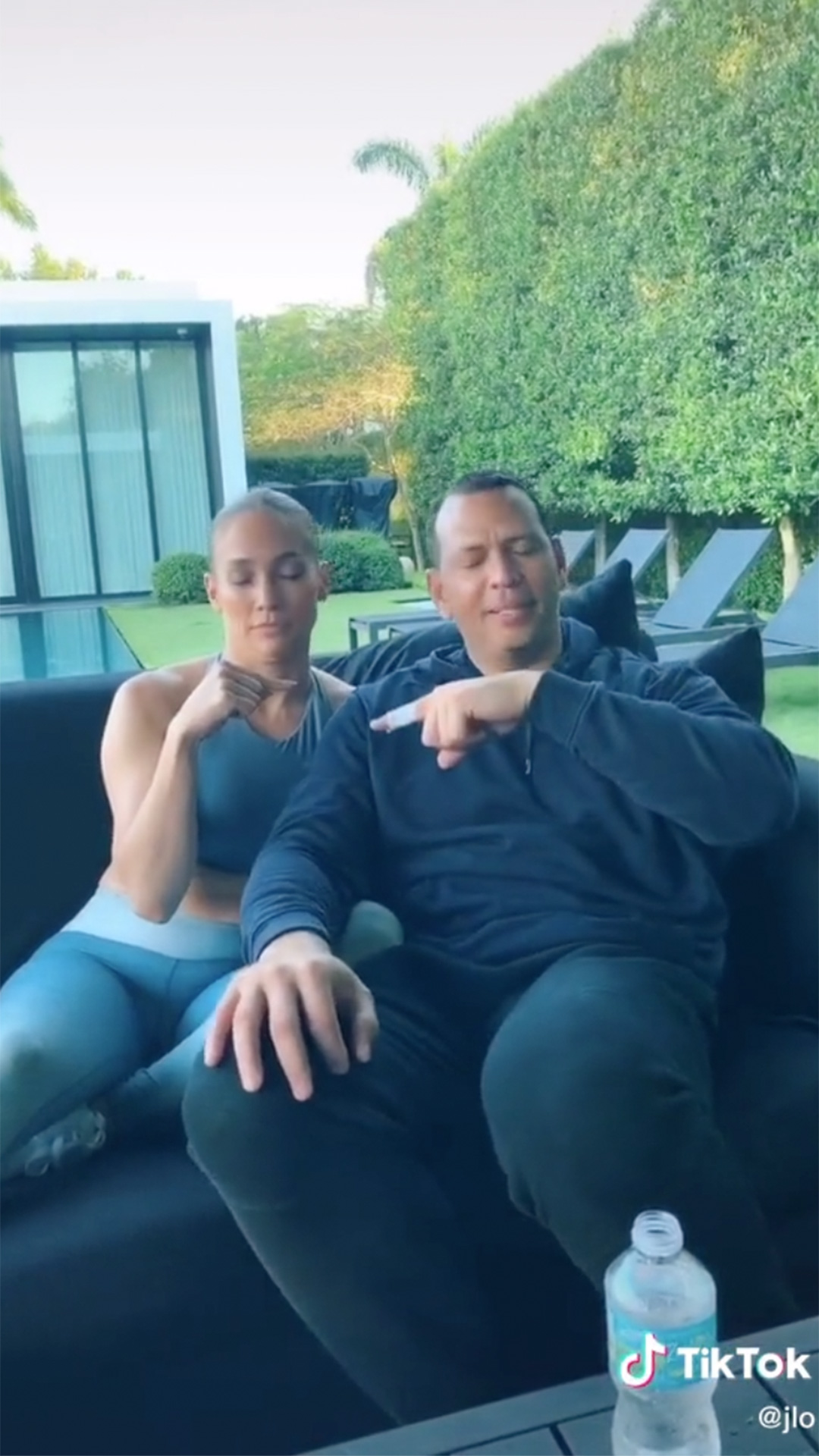 Jennifer Lopez and Alex Rodriguez Disagree Over Who Kissed Who First in TikTok Game