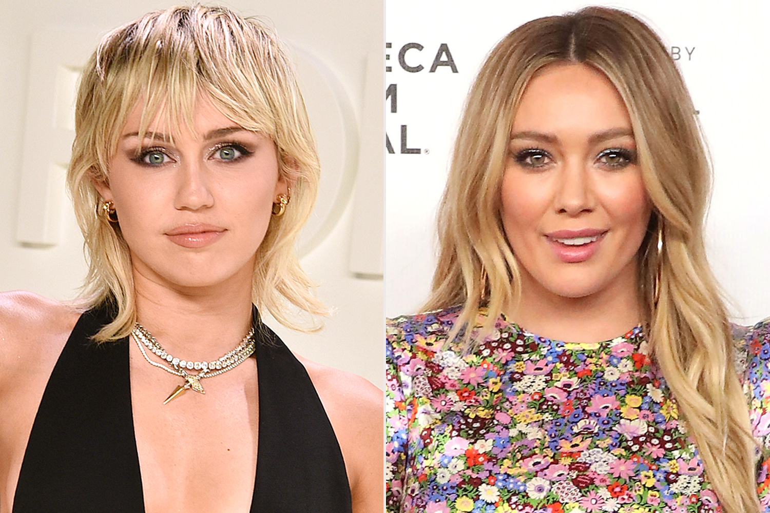 Miley Cyrus; Hilary Duff