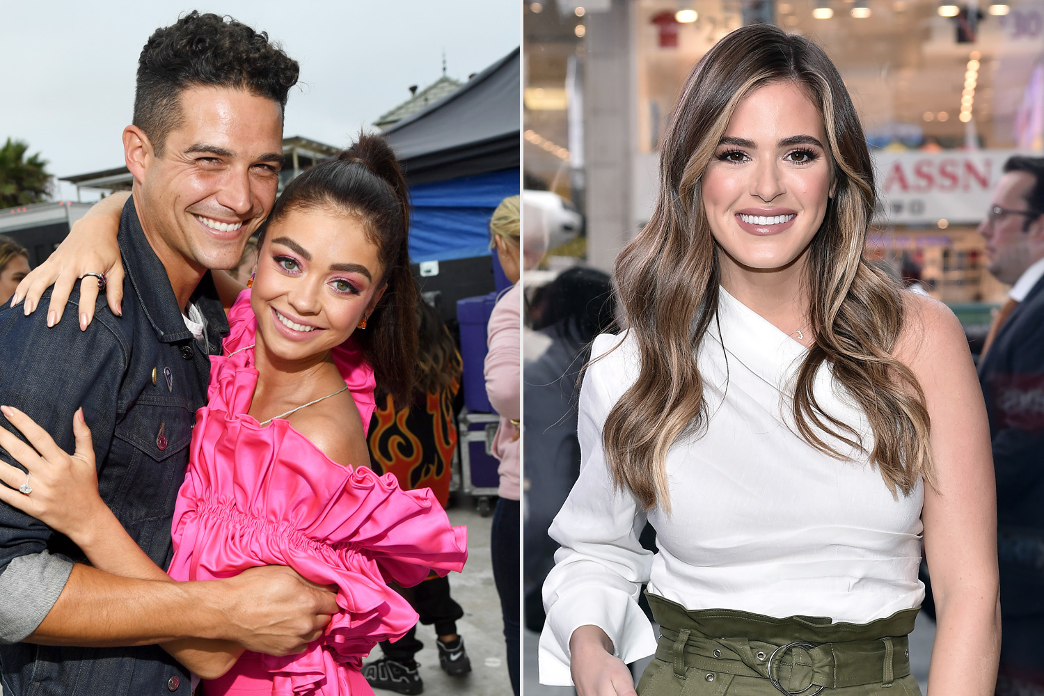 Sarah Hyland Thanks Bachelorette Joelle Fletcher for 'Dumpin' Fiancée Wells Adams