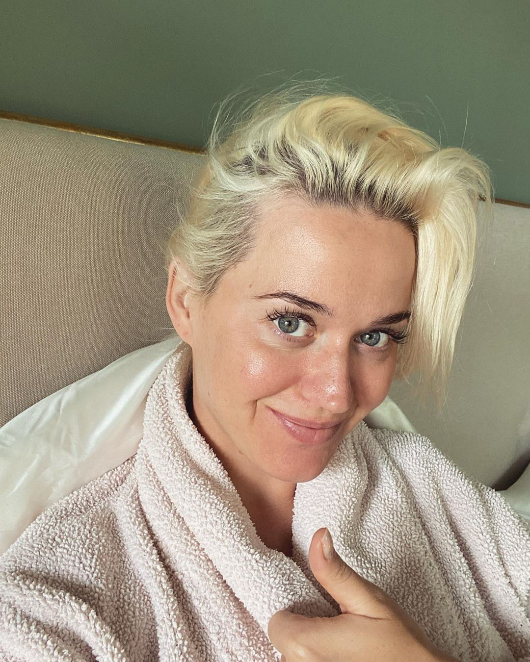 Katy Perry makeup free