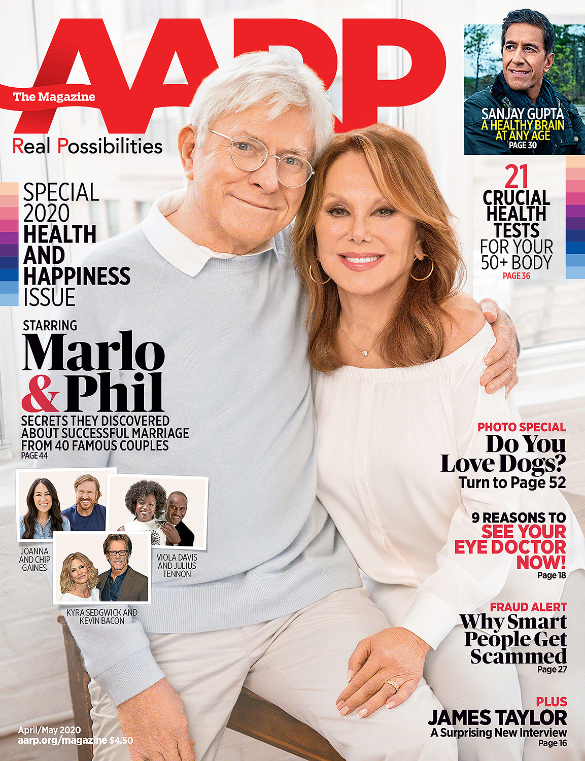 Marlo Thomas and Phil Donahue Open Up About the Secret to Their 40-Year Marriage
