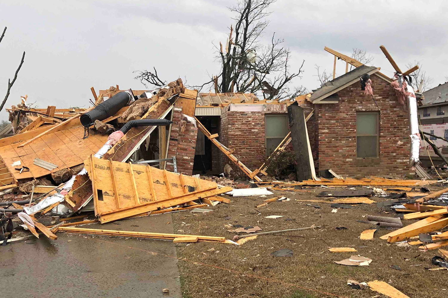Burks Family Home Destroyed in Tornado