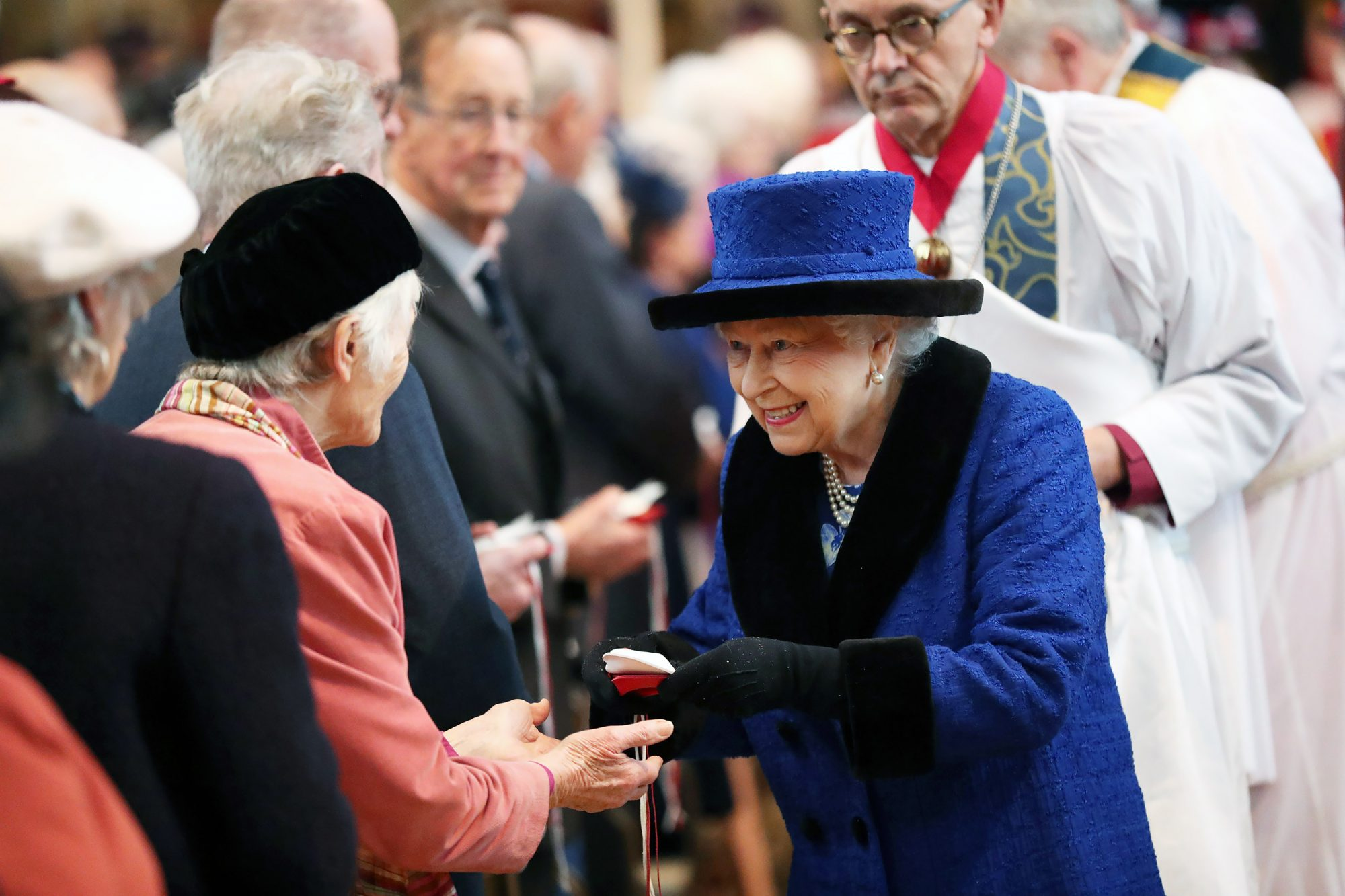 The Queen Attends the Royal Maundy Service