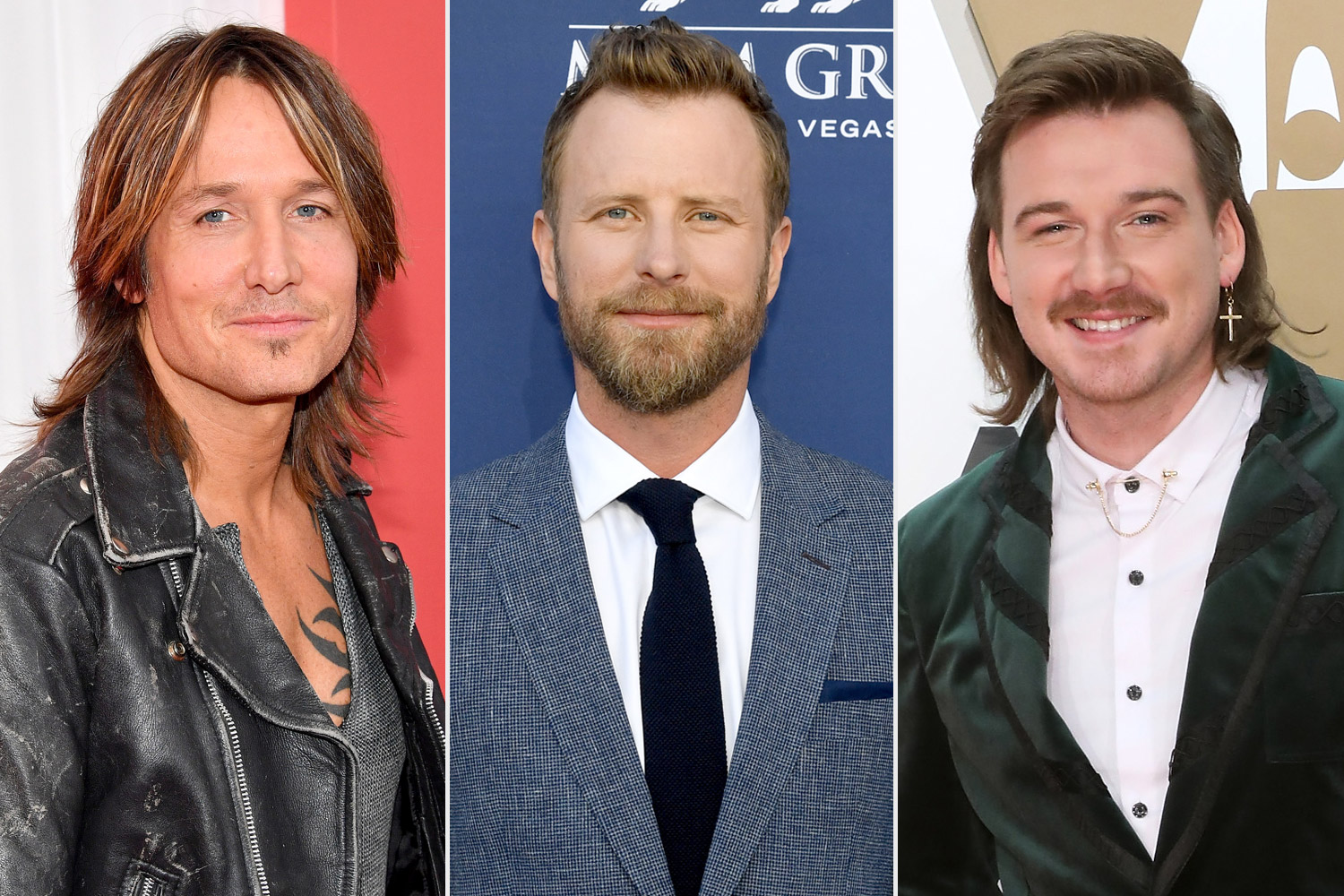keith urban, dierks bentley, morgan wallen