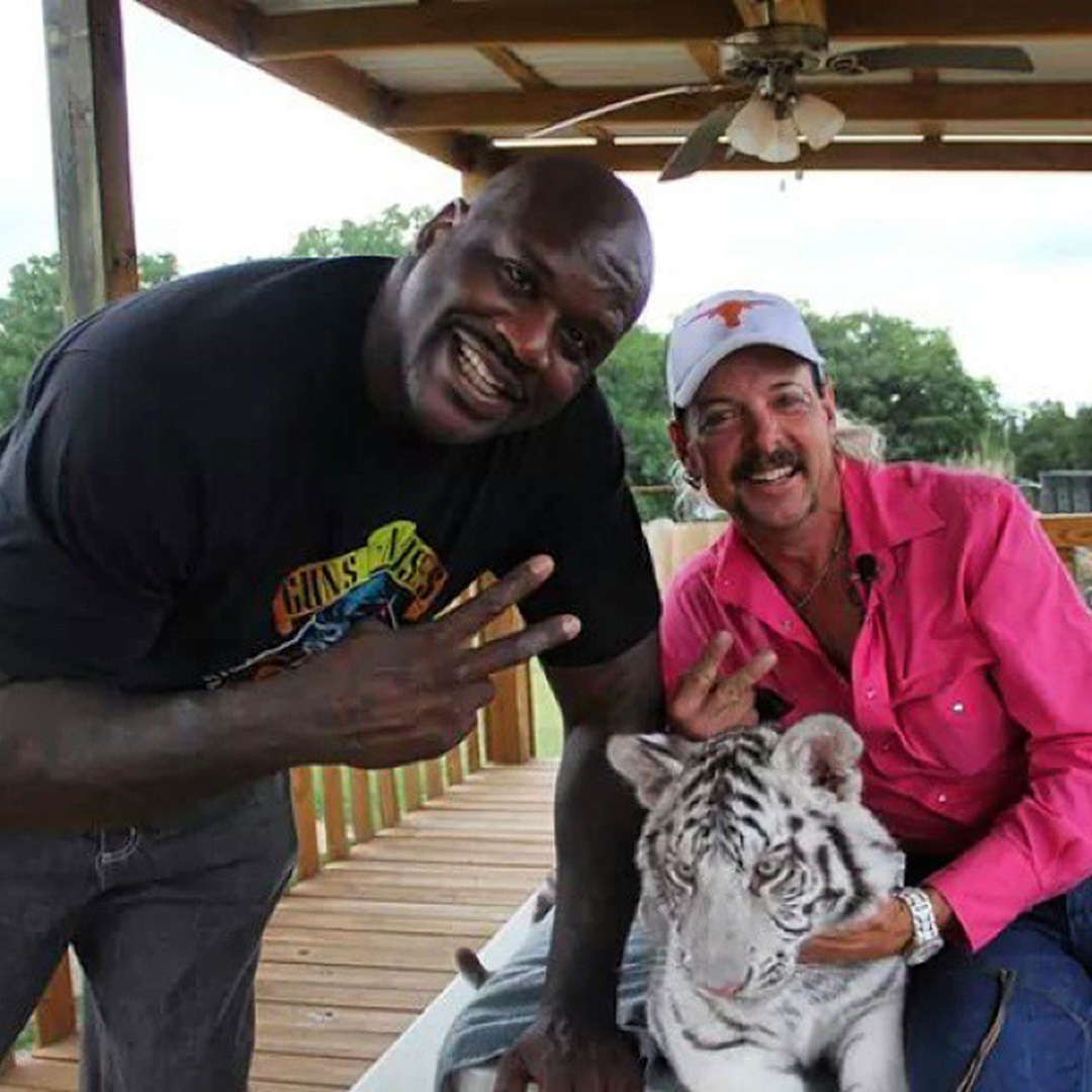 Shaquille O'Neal Not Friends with Tiger King's Joe Exotic | PEOPLE.com