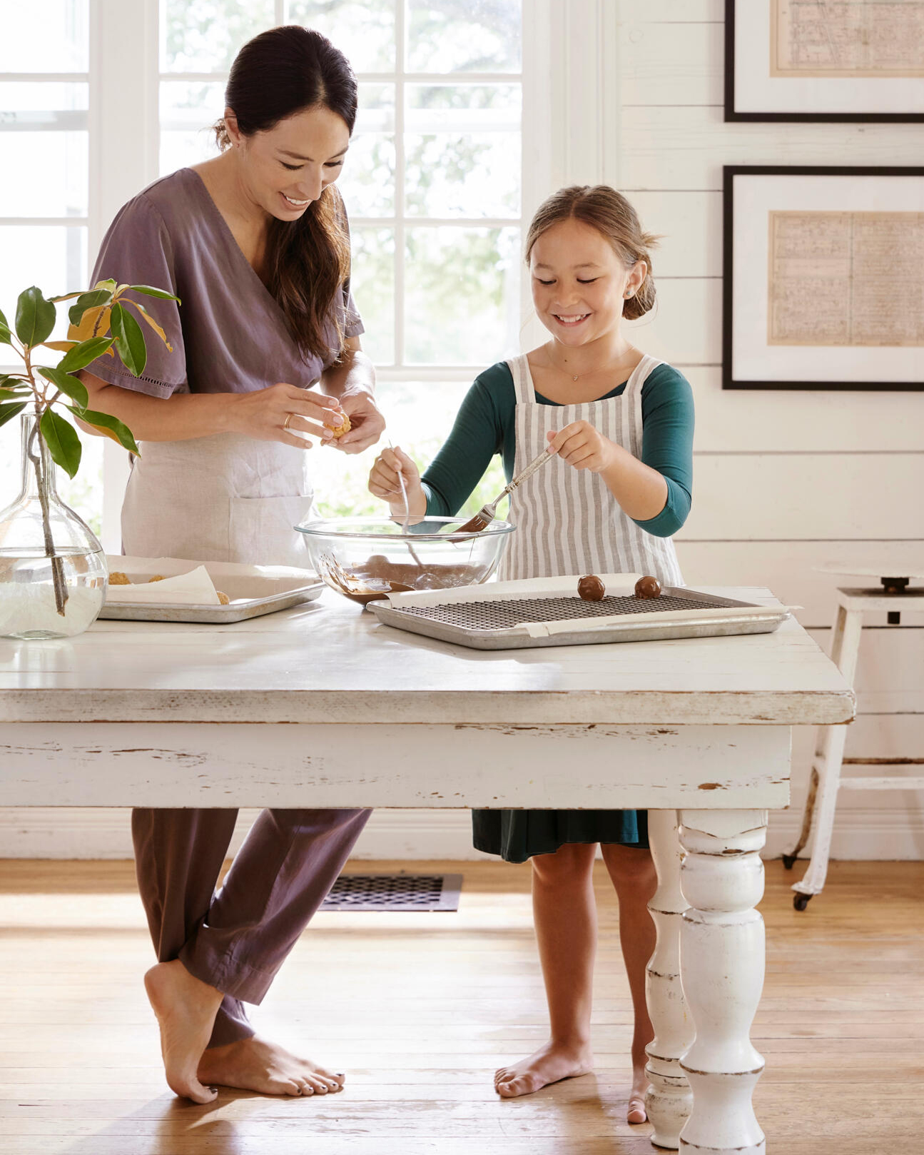 Joanna Gaines and her daughter, Emmie.. needs pr approval
