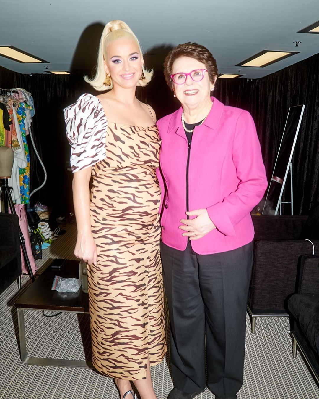 Katy Perry and Billie Jean King