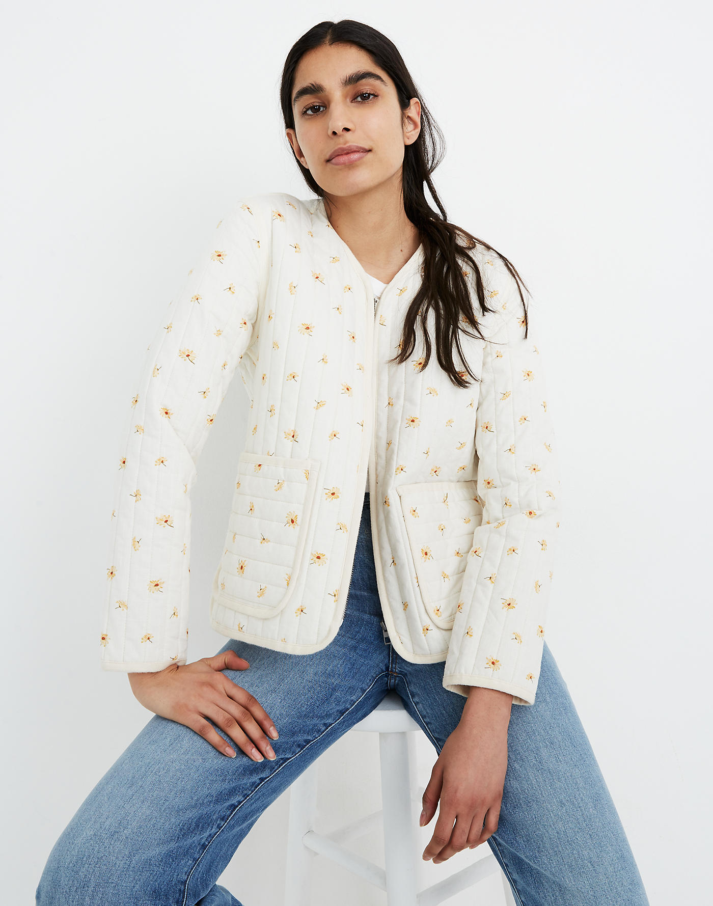 reese witherspoon wore this madewell jacket