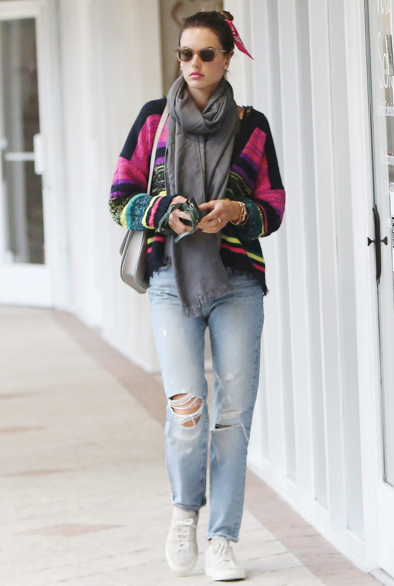 Alessandra Ambrosio out and about, Los Angeles, USA - 12 Mar 2020
