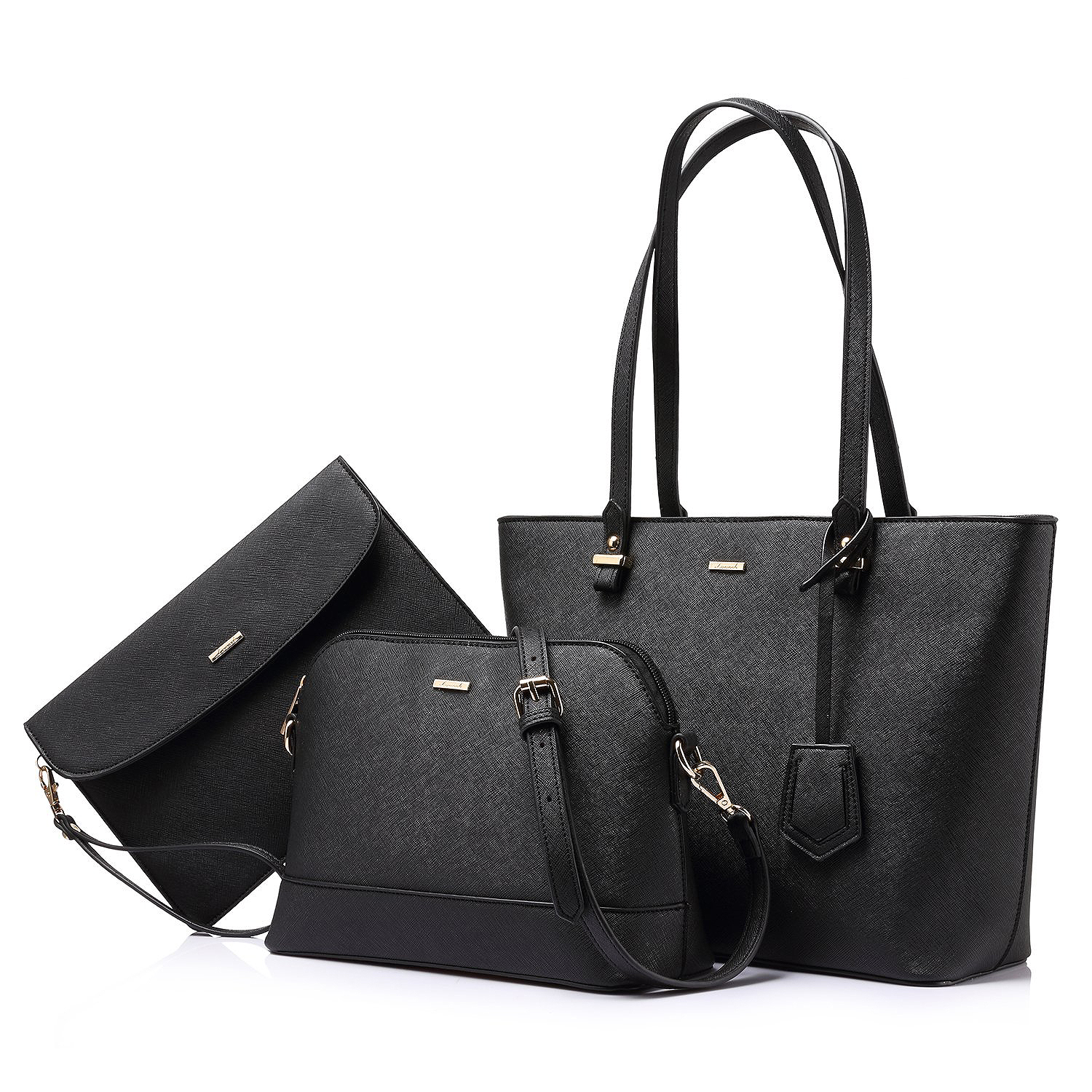 Lovevook Women's Tote Bag Three-Piece Set